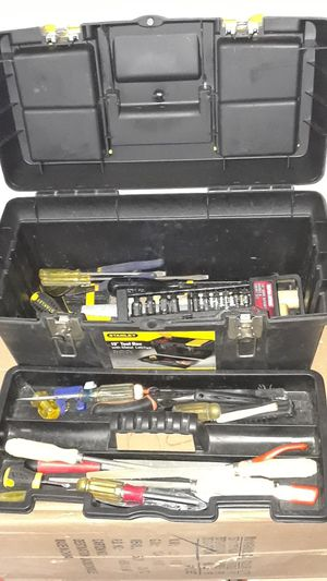 Tool box with tools for Sale in Kingman, AZ