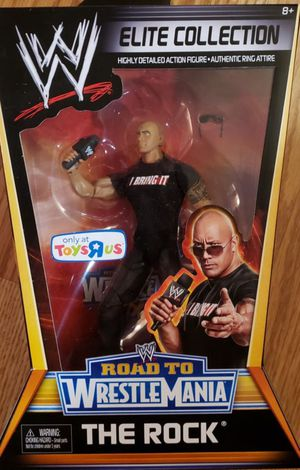 """New WWE """" The Rock"""" Elite Collection for Sale in Apopka, FL"""