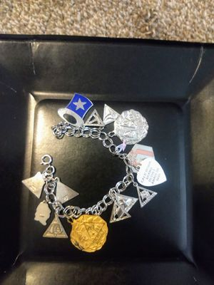 .925 Sterling charm bracelet for Sale in Portland, OR