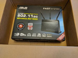 Asus RT-AC68R Dual-band Gigabit Router 802. 11ac Wireless-AC1900 for Sale in Austin, TX
