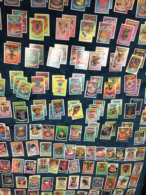 Rare vintage 1986 cabbage pail Kids stickers for Sale in Tempe, AZ