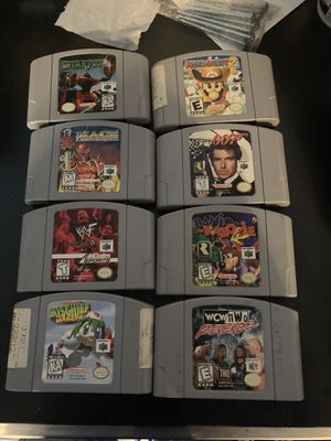 Eight Nintendo 64 games for Sale in Acworth, GA