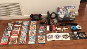 Nintendo Wii U 32GB Bundle with 27 Games Looks Brand New!!! Flawless for Sale in Grape Creek, TX