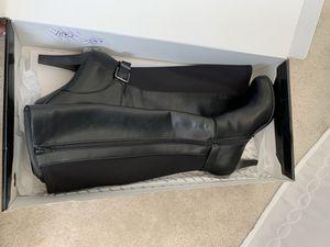 Black Alfani knee high boots size 8M for Sale in Manassas Park, VA