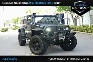 2015 Jeep Wrangler Unlimited for Sale in Miami, FL