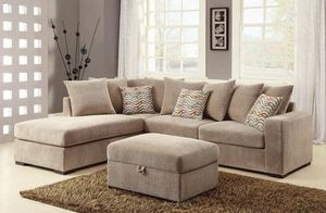 (JUST $54 DOWN) Brand New Beautiful Sectional with Pillows (Financing and Delivery available) for Sale in Carrollton, TX