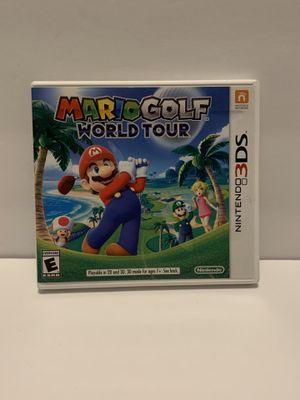 Mario Golf World Tour Nintendo 3DS for Sale in Naperville, IL