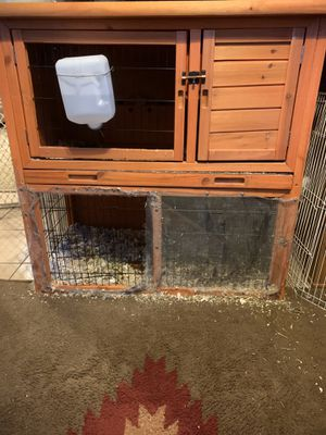 Bunny cage and water dispenser for Sale in Oro Valley, AZ