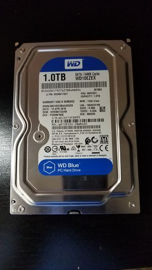 WD HARD DRIVE 1TB for Sale in Stanton, CA