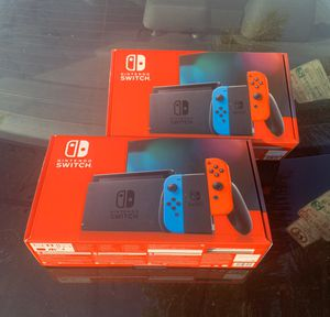 New Nintendo Switch (Only One, See Description) for Sale in Los Angeles, CA