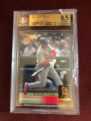 Albert Pujois 2001 upper deck baseball card for Sale in Southington, CT