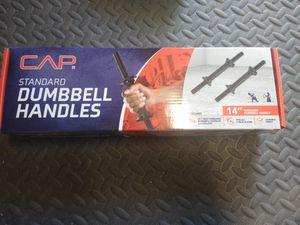 Dumbbell handles for Sale in Fresno, CA