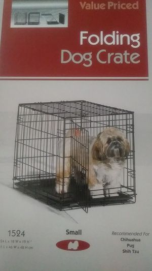 I crate folding dog crate for Sale in Jacksonville, FL