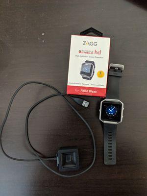 Fitbit Blaze & 2 HD Invisible Shield Screen Protectors for Sale in Canton, MI