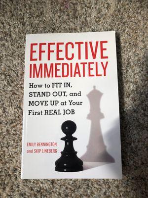 Effective Immediately Business Book for Sale in Wenatchee, WA
