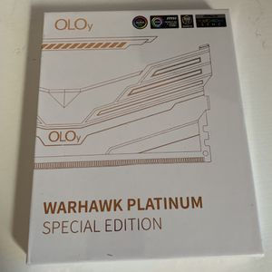 OLOy Warhawk Platinum DDR4 16gb (2x8) for Sale in Bakersfield, CA