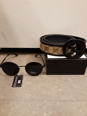Mens Belt and Sunglasses for Sale in LOS ANGLS Air Force Base, CA