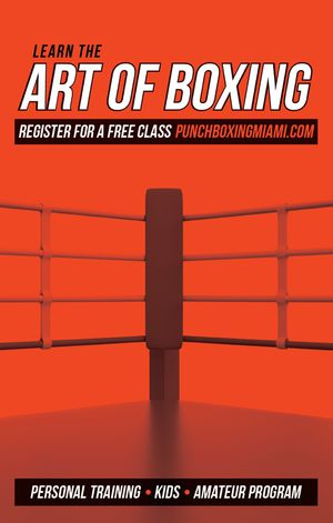 Free boxing class for Sale in Miami, FL
