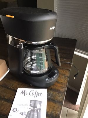 Mr coffee 12 cup coffee maker in excellent condition open box never used in original for Sale in Las Vegas, NV