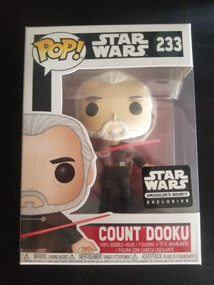 Count dooku funko pop for Sale in Imperial Beach, CA