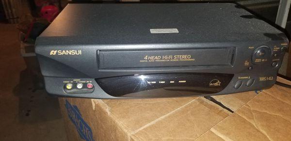 Sansui VCR