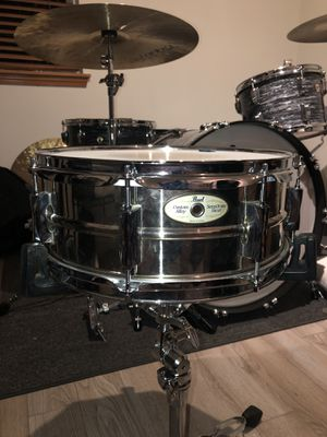 Pearl Sensitone snare drum 14x5 for Sale in Kent, WA