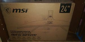 "MSI 24""Gaming Curved Monitor for Sale in Pomona, CA"