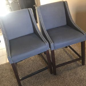 Bar height stools with high back for Sale in Evergreen, CO