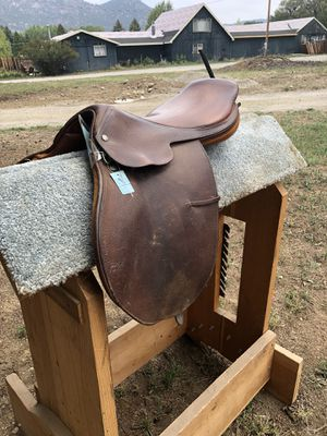 Crosby English Saddle for Sale in Fairplay, CO