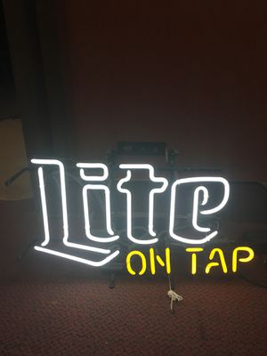 Led neons wall tins pool lights for Sale in Lancaster, PA