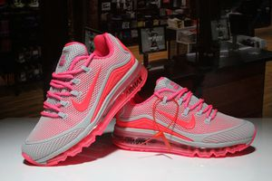 Womens Nike Air Max 2018 Elite KPU Grey Salmon Pink Running Shoes for Sale in Dover, DE