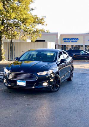 Ford Fusion SE Black & Black for Sale in Norridge, IL