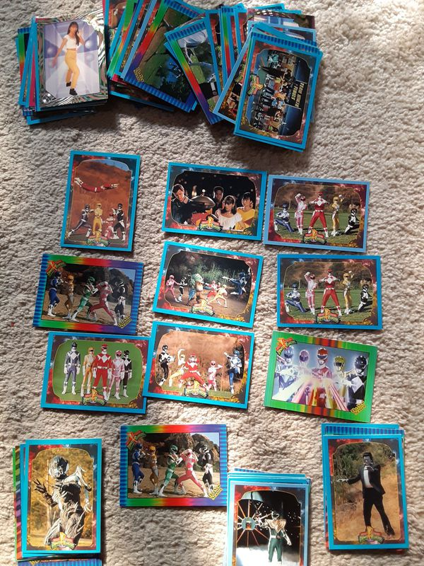 1994- 1995 POWER RANGERS TRADING CARDS