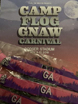 Camp Flog Gnaw 2019 - 3 GA Wristbands for Sale in Huntington Beach, CA