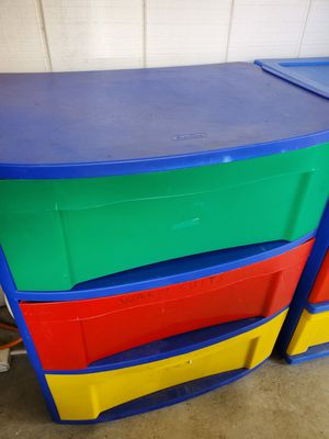 3 plastic drawers for Sale in San Diego, CA