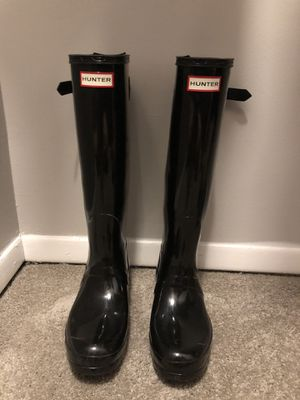 Hunter Rain Boots (Tall) for Sale in Wallingford, CT