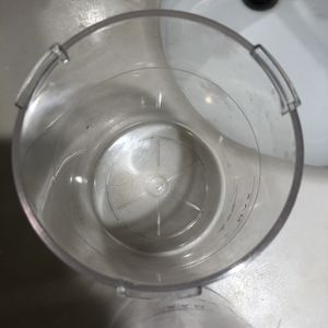 """4"""" Wide Diameter 5"""" High Plastic Bowl For Steamers for Sale in Houston, TX"""