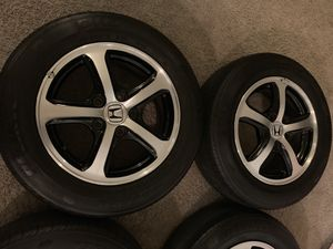 Civic wheels rims tires accord Honda rines for Sale in Orange, CA