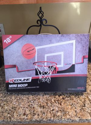 Red Line Mini-Hoop basketball set for Sale in Holden, MA