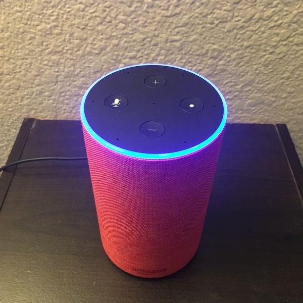 Amazon Echo 2nd Generation RED Edition