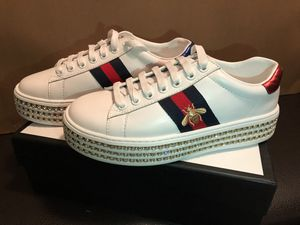 2018 Gucci Ace Sneakers with crystals Women 7US size for Sale in Houston, TX