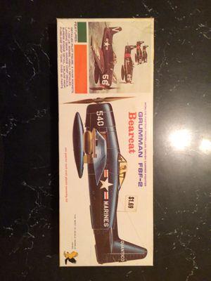 Used, Vintage F8F-2 Bearcat Model for Sale for sale  Saint Paul, MN