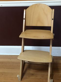 Wooden High Chair for Sale in Portland,  OR