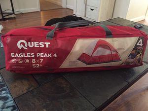 Quest Eagles Peak 4 Person Tent for Sale in Hartsville, SC