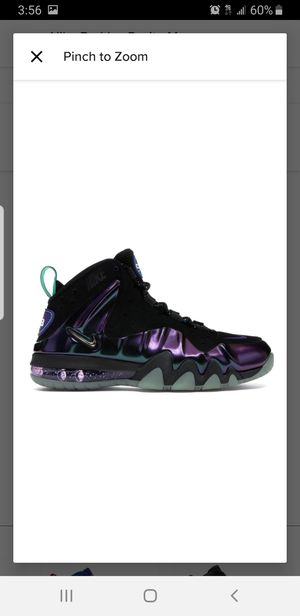 Nike Barkley Posite Max Eggplant DS Size 10.5 for Sale in Chicago, IL