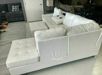 🚛SAMEDAY DELIVERY 🚚SPECIAL] Pablo White Sectional | U5300 for Sale in Washington,  DC