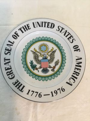 The Great Seal Of The United States Of America Ceramic Decorative for Sale in Berlin, MD