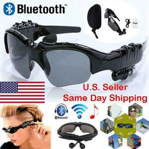 Wireless Bluetooth black sunglasses headphones hands free for iPhone and Android for Sale in Phoenix, AZ
