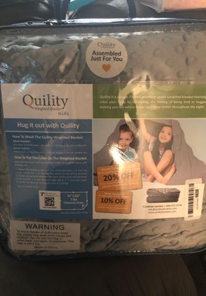 Weighted Blanket 7lbs for Sale in Phoenix, AZ