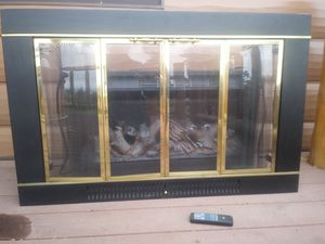 Electric Fireplace Insert with spark screen for Sale in Riverton, WY